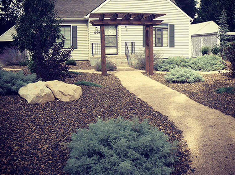 Idaho street townhomes stack rock group landscape for Landscape design boise