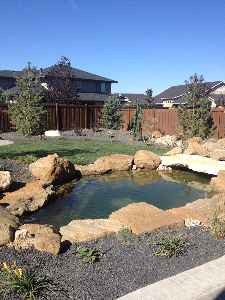 Spurwing greens i stack rock group landscape architecture for Landscape design boise