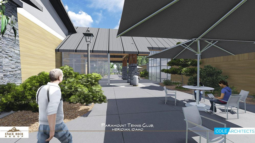 Paramount tennis club stack rock group landscape for Architects in boise idaho