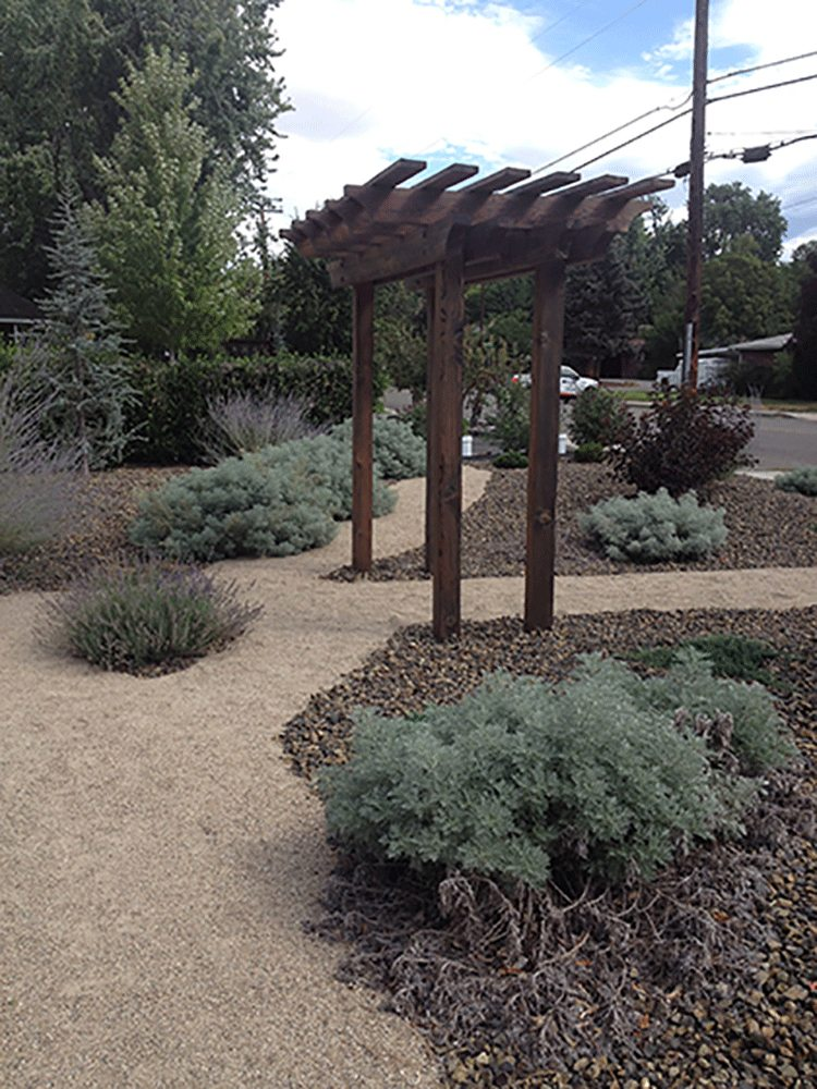 Boise bench xeriscape stack rock group landscape for Architects in boise idaho
