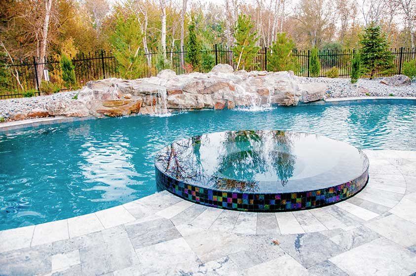 Rio afueras stack rock group landscape architecture for Pool design boise