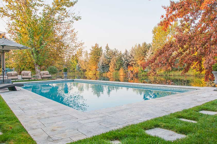 Two rivers vi stack rock group landscape architecture for Pool design boise