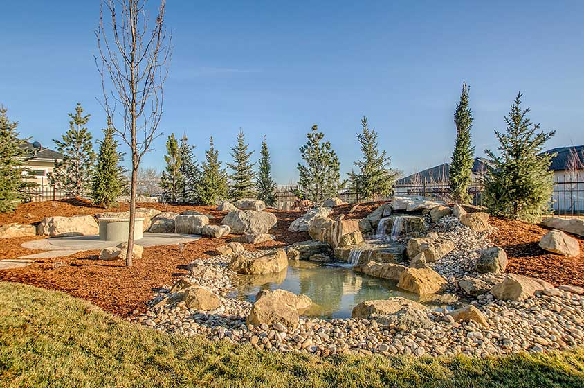 Lionsheart drive stack rock group landscape architecture for Landscape design boise