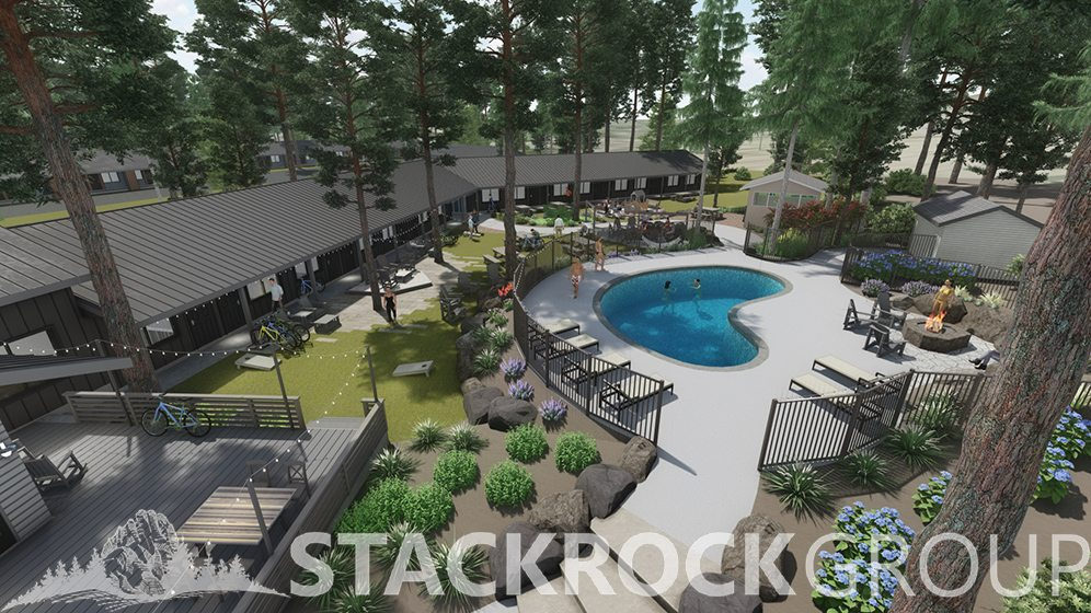 Loge Entrada Stack Rock Group Landscape Architecture